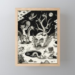 The Ways of the Wicked Framed Mini Art Print