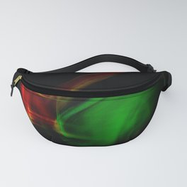 Green on Red Fanny Pack