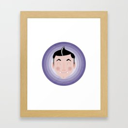 Harry the Happy Vampire Framed Art Print
