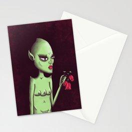 ET Girl Stationery Cards