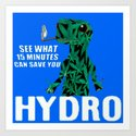 Hydro Gecko what 15 minutes can save by lilbudscorner
