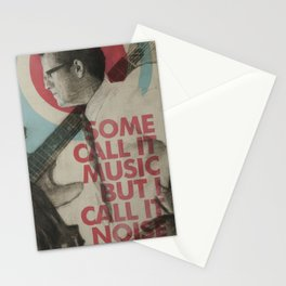 Some call it music but I call it noise Stationery Cards