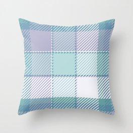 Plaid or tartan Throw Pillow