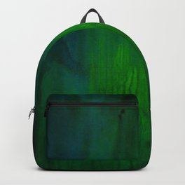 Green Abstract Backpack