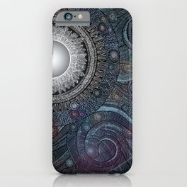 Feather Moon iPhone Case
