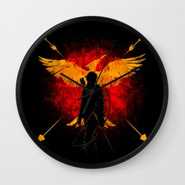 Revolution and Fire Wall Clock