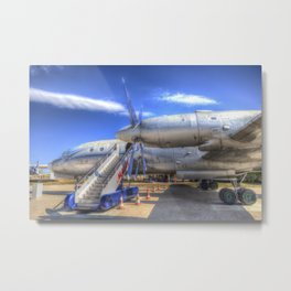 Malev Hungarian Airlines Ilyushin IL-18 Metal Print