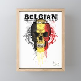 To The Core Collection: Belgium Framed Mini Art Print