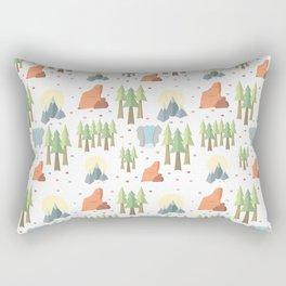 Outdoors Rectangular Pillow