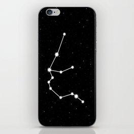 Aquarius Astrology Star Sign Night Sky iPhone Skin