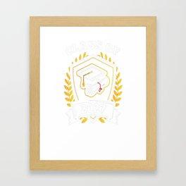 Class-of-2027---Class-of-2027-Graduation-T-Shirt---Sao-chép Framed Art Print