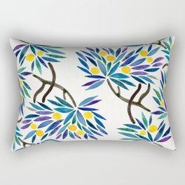 Bonsai Fruit Tree – Lemons Rectangular Pillow