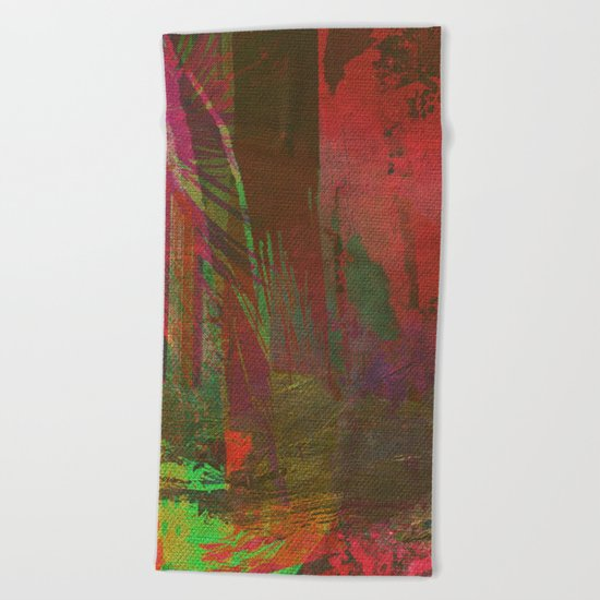 Lost in the Jungle - Yossi Ghinsberg Beach Towel