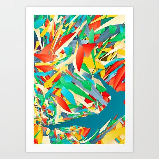 Slide Tackle | Soccer | I Love This Game Art Print