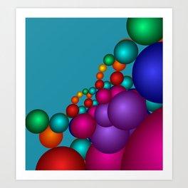 fractal geometry -125- Art Print