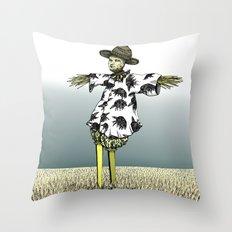 Crow Serie :: Scarecrow Henry Throw Pillow