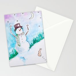 Magical Winter Stationery Cards