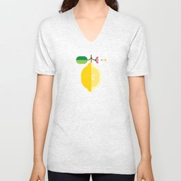 Fruit: Lemon Unisex V-Neck