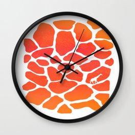 Giraffe Print   Animals Wall Clock