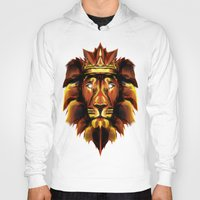 lion king Hoodies featuring Lion King by Mart Biemans