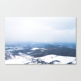 Arriving In Michigan Canvas Print