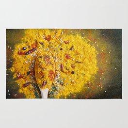 Shimmering spices Rug