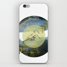 Great things iPhone & iPod Skin