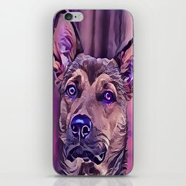 The Kunming Wolf Dog iPhone Skin