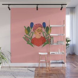 Banksia Lady Wall Mural
