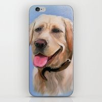labrador iPhone & iPod Skins featuring Labrador by OLHADARCHUK