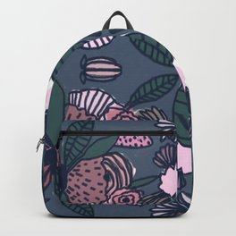Geometric Delicious Floral Garden Pattern 1 Backpack