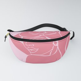 Salomé (Red+Pink) Fanny Pack