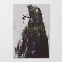 grace Canvas Prints featuring Grace by  Maʁϟ