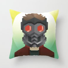 Guardians of the Galaxy - Star-Lord Throw Pillow