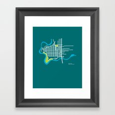West Central, Spokane Framed Art Print