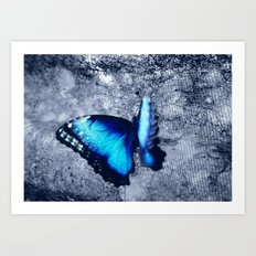 Blue Picture Perfect Art Print