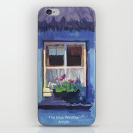 The Blue House iPhone Skin