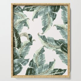 Tropical Banana Leaves Serving Tray