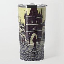 Charles Bridge, Prague Travel Mug