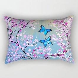 Ulysseys Butterflies Rectangular Pillow