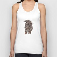hare Tank Tops featuring Hare by Meredith Mackworth-Praed