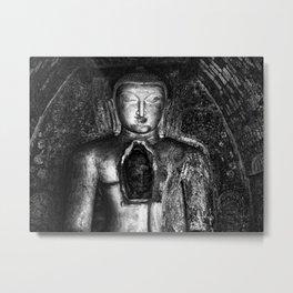 Buddha and a hidden gem Metal Print