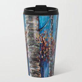 Aspen Forest In The Rocky Mountain Travel Mug