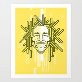 Music Legend  Art Print