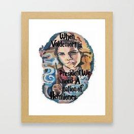 Nation of Hermiones Framed Art Print