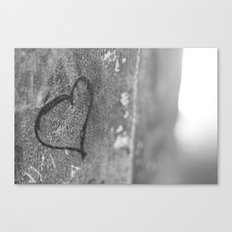 From Barcelona with Love Canvas Print
