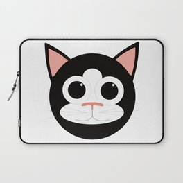Black & White Cat Laptop Sleeve