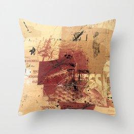 misprint 98 Throw Pillow
