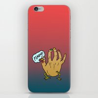 thanksgiving iPhone & iPod Skins featuring Happy Thanksgiving by Josh LaFayette