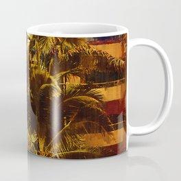 Resort Palm Trees Coffee Mug